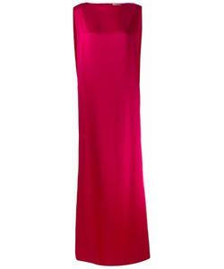 Chalayan | Signature Long Column Dress 44 Viscose/Acrylic