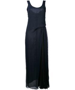 Emporio Armani | Длинное Драпированное Платье