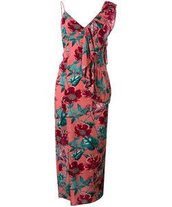For Love & Lemons | Асимметричное Платье С Принтом Flamenco