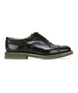 Church'S | Brogued Oxfords 10 Calf Leather/Leather/Rubber