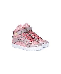 Young Versace | Glitter Detail Hi-Top Sneaker 34