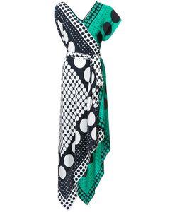 Diane Von Furstenberg | Асимметричное Платье С Принтом
