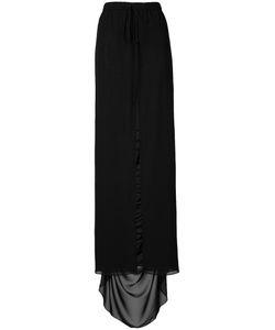 Vera Wang | Cutaway Skirt 6 Silk