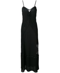 Mcq Alexander Mcqueen | Lace Trim Maxi Dress Size 42