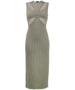 Beaufille | Fitted Cutout Cross Front Dress Women