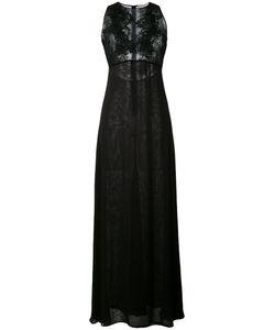 Amen | Длинное Платье С Кружевными Панелями