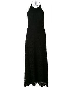 Theory | Длинное Вязаное Платье С Вырезом-Халтер