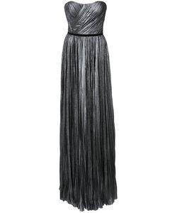 J. Mendel | Плиссированное Платье Без Бретелек