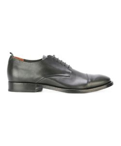 Buttero | Lace-Up Derby Shoes 44 Calf Leather/Leather/Rubber