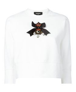 Dsquared2 | Crystal-Embellished Sweatshirt Size Small