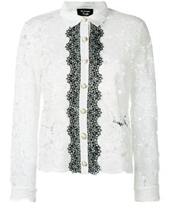 The Kooples   Two-Tone Lace Blouse 2