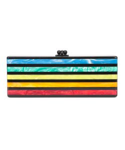 EDIE PARKER | Striped Clutch Acrylic