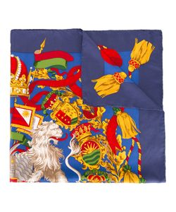GIANFRANCO FERRE VINTAGE | Coat Of Arms Print Scarf