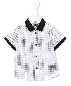 Armani Junior | Mini Logo Print Shirt Size 6 Mth