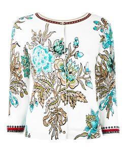 Twin-set   Embellished Cardigan Womens Size Xs Cotton/Viscose