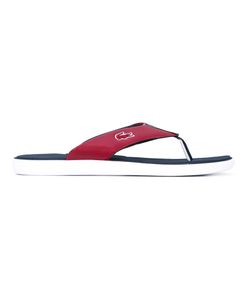 Lacoste | Striped Trim Flip Flops
