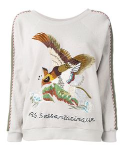 As65 | Embroidered Bird Jumper Size
