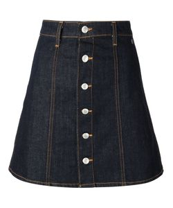 Alexa Chung for AG | Cotton Blend Kety Denim Skirt From