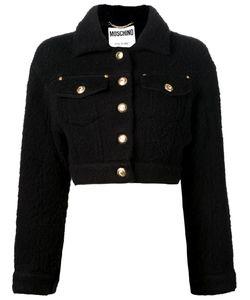 Moschino | Укороченная Валяная Куртка