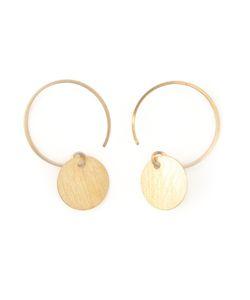 BY BOE | Disc Loop Earrings