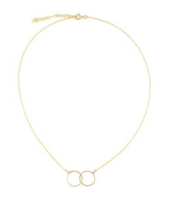 BY BOE | 14kt Filled Sterling Circle Link Necklace From