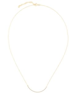 BY BOE | 14kt Filled Sterling Curved Wire Necklace From