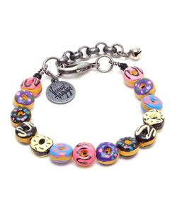 Venessa Arizaga | 6 Bracelet With Coloured Ceramic Donuts