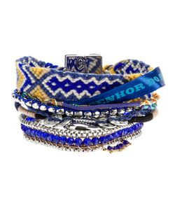 HIPANEMA | Beaded Bracelet From Featuring Contrasting Layers With Bead And Pearl Detailing And A Tone Branded Fastening