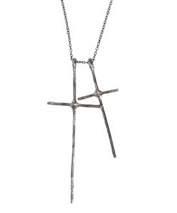 LEE BRENNAN DESIGN | Double Cross Necklace From Lee Breenan Design