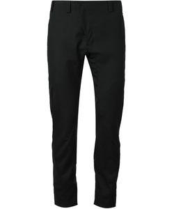 DEVOA | Wool Asymmetric Fastening Trousers From