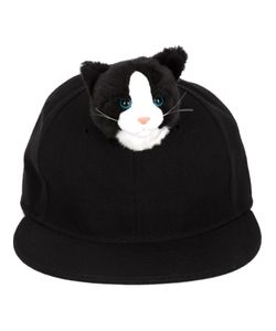 PIERS ATKINSON | Cotton Blend Cat Cap From
