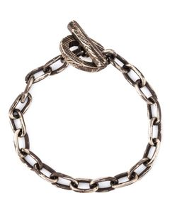 HENSON | Distressed Chain Bracelet From