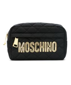 Moschino | Стеганая Косметичка С Логотипом