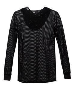 ADA + NIK | Сетчатая Рубашка С Капюшоном