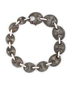 UGO CACCIATORI | Textured Chain Bracelet From
