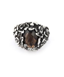 UGO CACCIATORI | Gemstone Stud Ring From