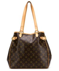 LOUIS VUITTON VINTAGE | Classic Monogram Canvas Batignolles Bag From Featuring Shoulder Straps A Side Buckle Fastening A Clasp Fastening Tone Hardware An All Over Logo Print And An Internal Zipped Pocket