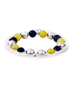 URIBE | 18k Lapis Lazuli And Amethyst Guiona Bracelet From