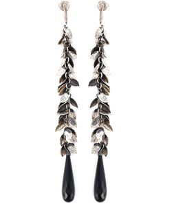 UGO CACCIATORI | Foliage Drop Earrings From