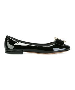 Marc Jacobs | Interlock Ballerina Flats 35 Patent Leather/Leather