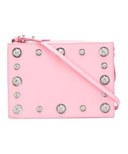 Versus | Studded Cross Body Bag Metal Other/Calf Leather/Cotton