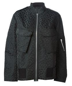 Alexander Wang | Куртка-Бомбер С Леопардовым Принтом