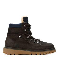 Moncler | Походные Ботинки На Шнуровке