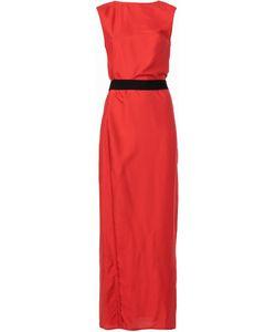 Ann Demeulemeester | Платье С Глубоким V-Образным Вырезом Сзади