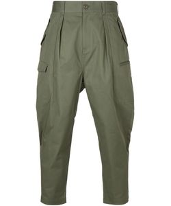 Undecorated Man | Cotton Cargo Trousers From