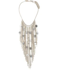 Rosantica | -Tone Metal And Stone Santa Barbara Necklace From