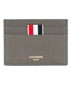 Thom Browne | Calf Leather Classic Cardholder From Featuring A Front Center Logo Stamp And Multiple Card Slots