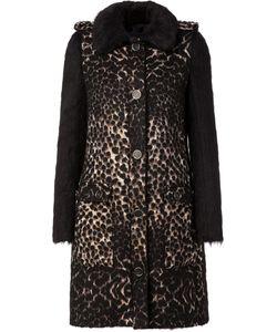 Lanvin | Пальто С Контрастными Рукавами