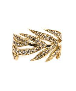 MARC ALARY | Diamond Leaf Ring