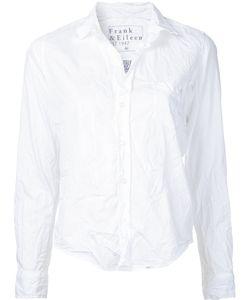 FRANK & EILEEN | Wrinkle Effect Shirt Size Xxs